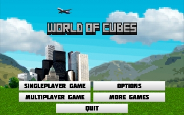World of Cubes - block building game with multiplayer スクリーンショット1