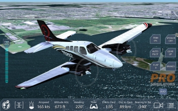 Pro Flight Simulator New York Premium Edition スクリーンショット3