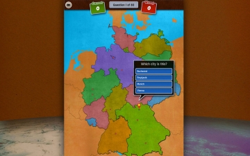 GeoFlight Germany: Learning German geography made easy and fun スクリーンショット4