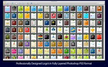 Logo Mega Pack - Logos & Templates for Adobe Photoshop & Elements スクリーンショット4