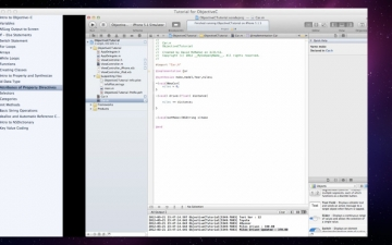 Tutorial for ObjectiveC スクリーンショット4