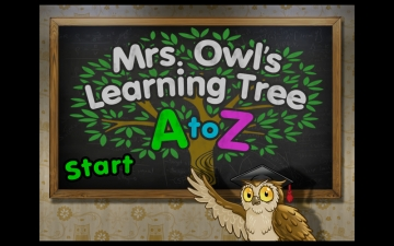 A to Z - Mrs. Owl's Learning Tree - 3 スクリーンショット1