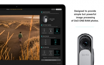 DxO OpticsPro for Photos - DxO ONE Camera only スクリーンショット1