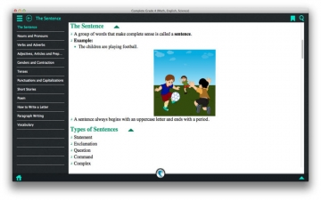 Complete Grade 4 (Math, English and Science) - A simpleNeasyApp by WAGmob スクリーンショット2