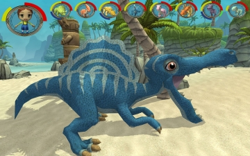 Jurassic Dino Kids Evolution-U スクリーンショット1