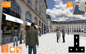 ViViWo enjoy virtual tourism, art and shopping スクリーンショット1