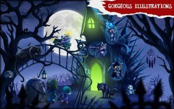 Amelia and Terror of the Night - Story Book for Kids スクリーンショット4