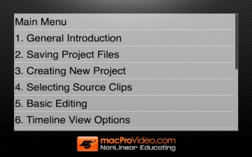 Course For Final Cut Pro X 101 - Overview and Quick Start Guide スクリーンショット3
