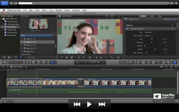Course For Final Cut Pro X 101 - Overview and Quick Start Guide スクリーンショット5