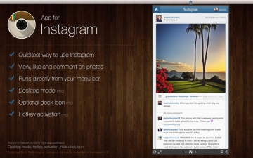 App for Instagram - Instant at your desktop! スクリーンショット1