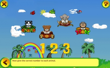 Learning Numbers for Kids: games to teach numbers from 1 to 10 by Hedgehog Academy スクリーンショット1