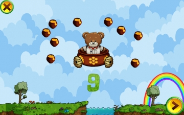 Learning Numbers for Kids: games to teach numbers from 1 to 10 by Hedgehog Academy スクリーンショット5