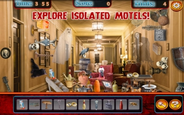 Hidden Objects Haunted Motels & Hotels スクリーンショット3