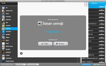 WordPower Learn Turkish Vocabulary by InnovativeLanguage.com スクリーンショット4