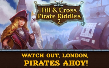 Fill and Cross. Pirate Riddles 2 スクリーンショット1