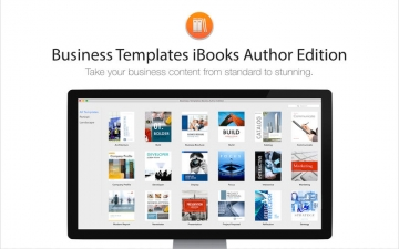 Business Templates iBooks Author Edition スクリーンショット1