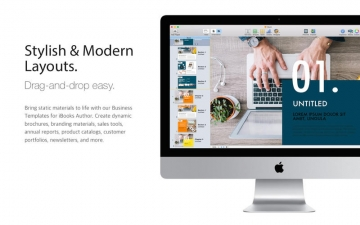 Business Templates iBooks Author Edition スクリーンショット2