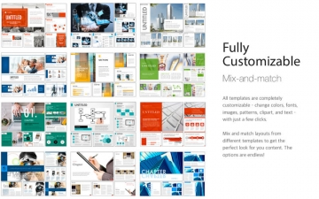 Business Templates iBooks Author Edition スクリーンショット4