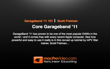 Course For Garageband '11 101 - Core Garageband '11 スクリーンショット1