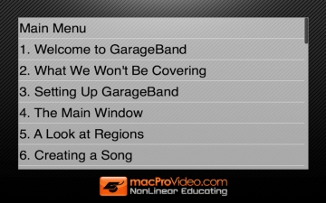 Course For Garageband '11 101 - Core Garageband '11 スクリーンショット3