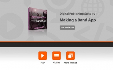 Making a Band App For Digital Publishing Suite スクリーンショット1