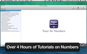 Tutor for Numbers スクリーンショット1