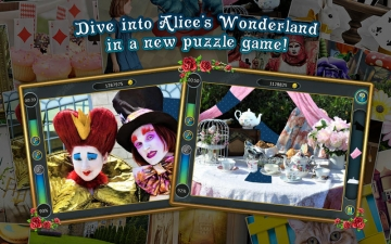 Alice's Jigsaw. Wonderland スクリーンショット1