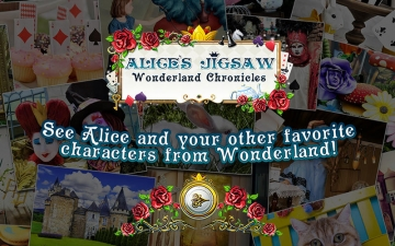 Alice's Jigsaw. Wonderland スクリーンショット2