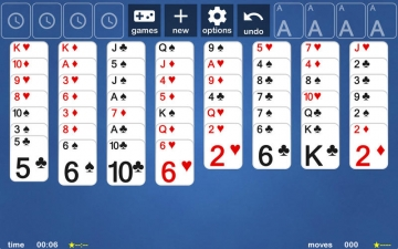 Freecell Solitaire スクリーンショット1