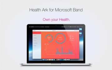 Health Ark for Microsoft Band スクリーンショット1