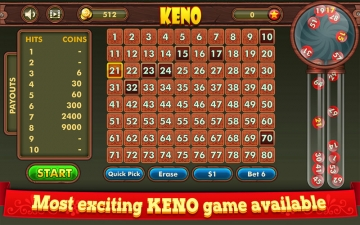Keno King: Casino Lottery Game スクリーンショット2