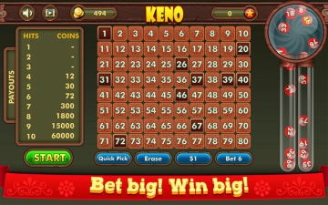 Keno King: Casino Lottery Game スクリーンショット4
