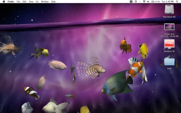 Desktop Aquarium 3D LIVE Wallpaper & ScreenSaver スクリーンショット3