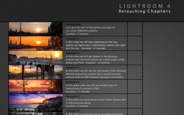 Learn Retouching Lightroom 4 Free Edition スクリーンショット2