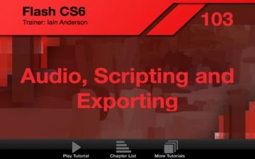 AV for Flash CS6 103 - Audio, Scripting and Exporting スクリーンショット2
