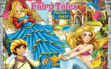Honey Flavour Puzzle Chest Fairy Tales スクリーンショット1