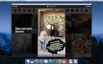 Grids - App for Instagram on desktop スクリーンショット3