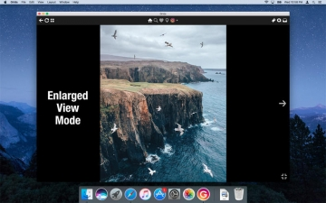 Grids - App for Instagram on desktop スクリーンショット5