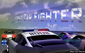 Speed Car Fighter 3D 2015 Free スクリーンショット1