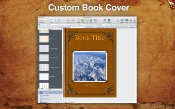 A Plus Old Book Template for iBooks Author スクリーンショット1