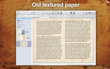 A Plus Old Book Template for iBooks Author スクリーンショット2