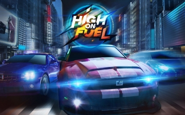 Car Racing 3D: High on Fuel スクリーンショット1