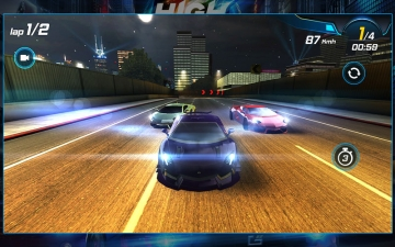 Car Racing 3D: High on Fuel スクリーンショット3