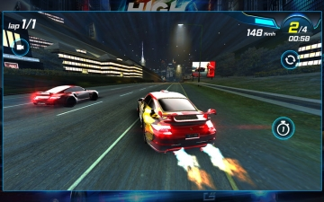 Car Racing 3D: High on Fuel スクリーンショット4