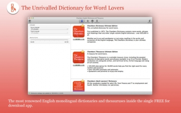 Chambers English Dictionary and Thesaurus スクリーンショット1