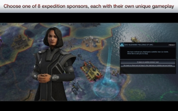 Civilization: Beyond Earth スクリーンショット1