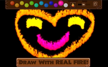 Fire Draw - Paint with Real Flames! スクリーンショット2