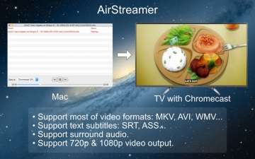 AirStreamer - for Chromecast スクリーンショット2