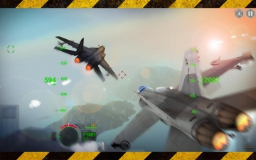 AirFighters - Combat Flight Simulator スクリーンショット1