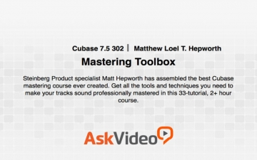 Mastering Toolbox for Cubase 7.5 スクリーンショット1